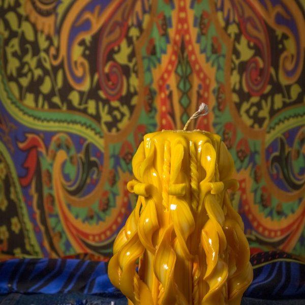 свеча резная 12 см