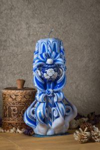 свеча резная с чайником 22 см