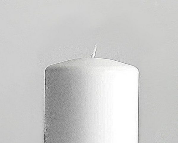 свеча цилиндр с круглым верхом
