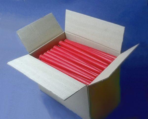 свечи красные в коробке
