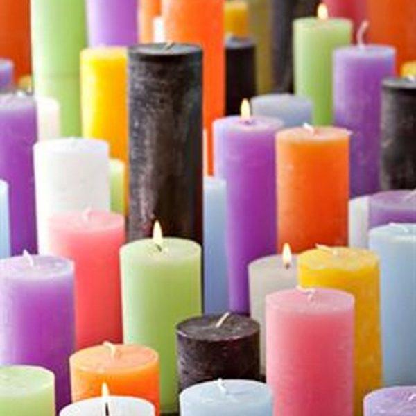 Цилиндрические свечи