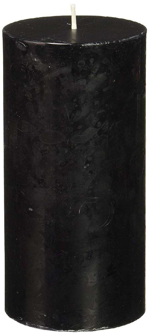 свеча столбик черный