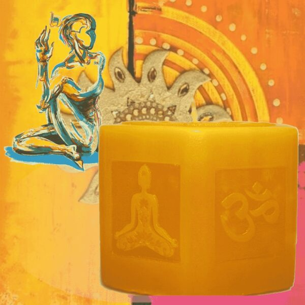 Манипура. Свеча для медитации.