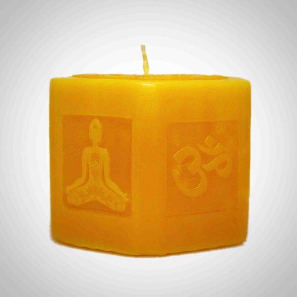Желтая свеча. Чакра Манипура
